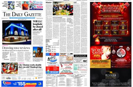 The Daily Gazette – November 23, 2018