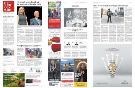 The Globe and Mail – October 11, 2018