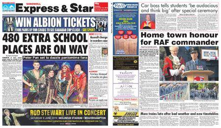 Express and Star Sandwell Edition – September 18, 2018