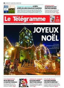 Le Télégramme Brest Abers Iroise – 24 décembre 2019