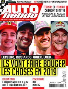 Auto Hebdo - 10 janvier 2019