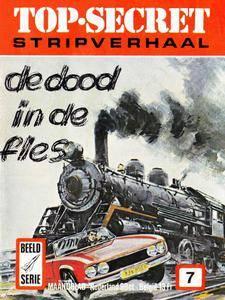 Top-Secret Stripverhaal - 07 - De Dood In De Fles cbr