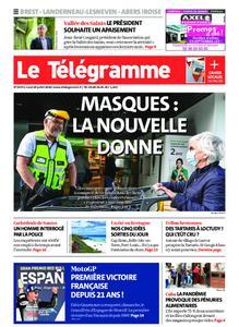 Le Télégramme Brest Abers Iroise – 20 juillet 2020