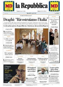 la Repubblica - 27 Aprile 2021