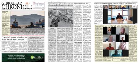 Gibraltar Chronicle – 03 February 2021