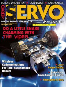 Servo Magazine September 2006  repost
