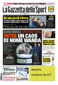 La Gazzetta dello Sport Roma – 19 dicembre 2018
