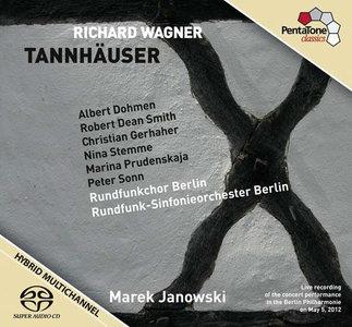 Wagner - RSO Berlin / Marek Janowski - Tannhäuser (2012, Pentatone # PTC 5186 405) {3x Hybrid-SACD // EAC Rip} [RE-UP]
