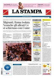 La Stampa Torino Provincia e Canavese - 21 Settembre 2018