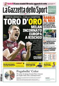 La Gazzetta dello Sport Roma – 29 aprile 2019