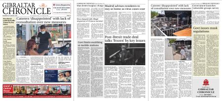 Gibraltar Chronicle – 22 August 2020