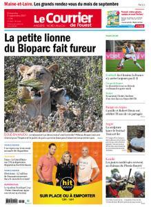 Le Courrier de l'Ouest Angers – 05 septembre 2021