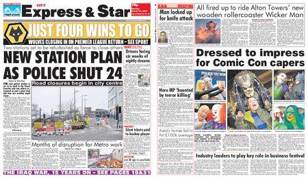 Express and Star City Edition – March 19, 2018