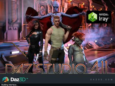 DAZ Studio Pro Edition 4.11.0.383 (x64) Portable