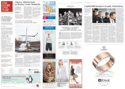 The Globe and Mail – April 10, 2018