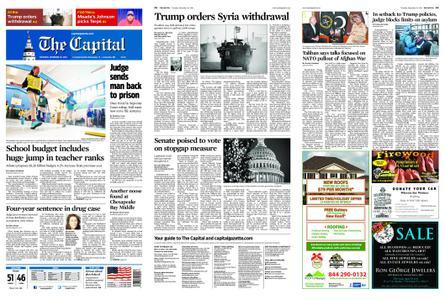 The Capital – December 20, 2018