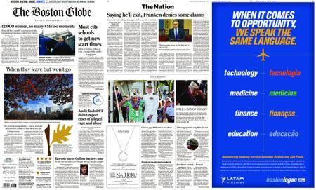 The Boston Globe – December 08, 2017