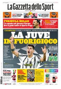 La Gazzetta dello Sport Roma – 29 ottobre 2020