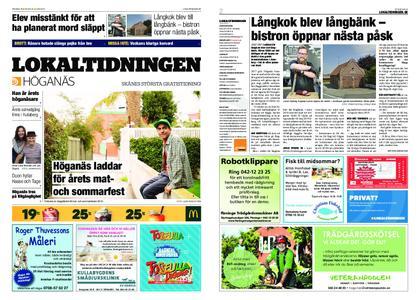 Lokaltidningen Höganäs – 15 juni 2019