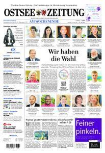 Ostsee Zeitung Wolgast - 23. September 2017