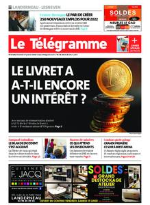 Le Télégramme Landerneau - Lesneven – 17 janvier 2020