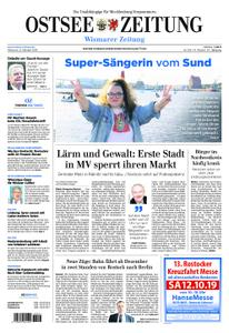 Ostsee Zeitung Wismar - 09. Oktober 2019