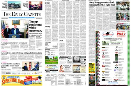 The Daily Gazette – August 06, 2019