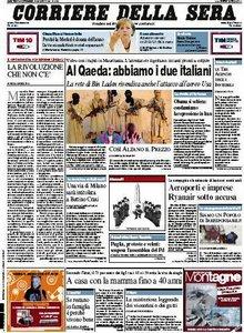 Il Corriere della Sera (29-12-09)