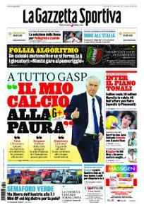 La Gazzetta dello Sport Roma – 31 maggio 2020