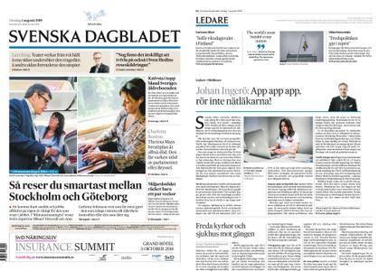 Svenska Dagbladet – 01 augusti 2018