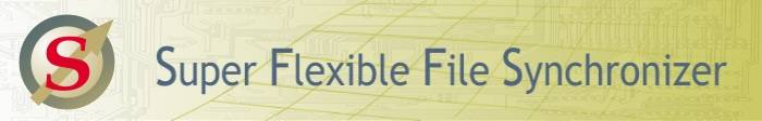 Super Flexible File Synchronizer 3.0.1.463