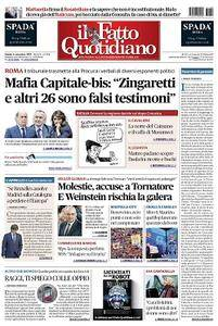 Il Fatto Quotidiano - 4 Novembre 2017
