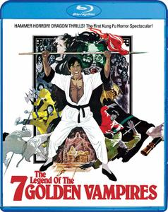 The Legend of the 7 Golden Vampires (1974) + Extras [w/Commentary]