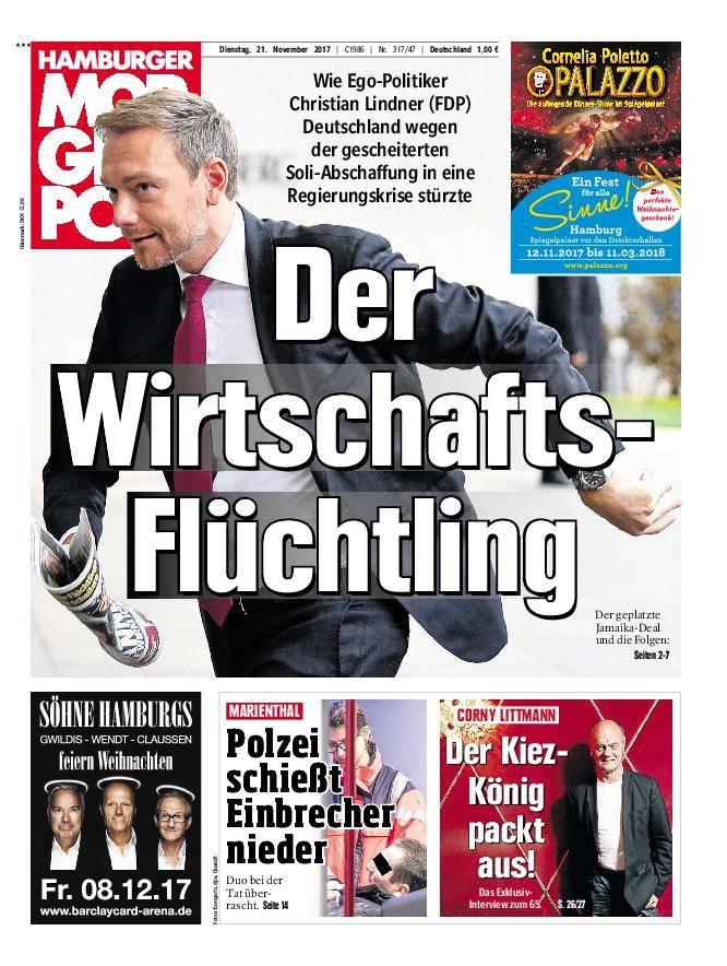 Hamburger Morgenpost - 21. November 2017