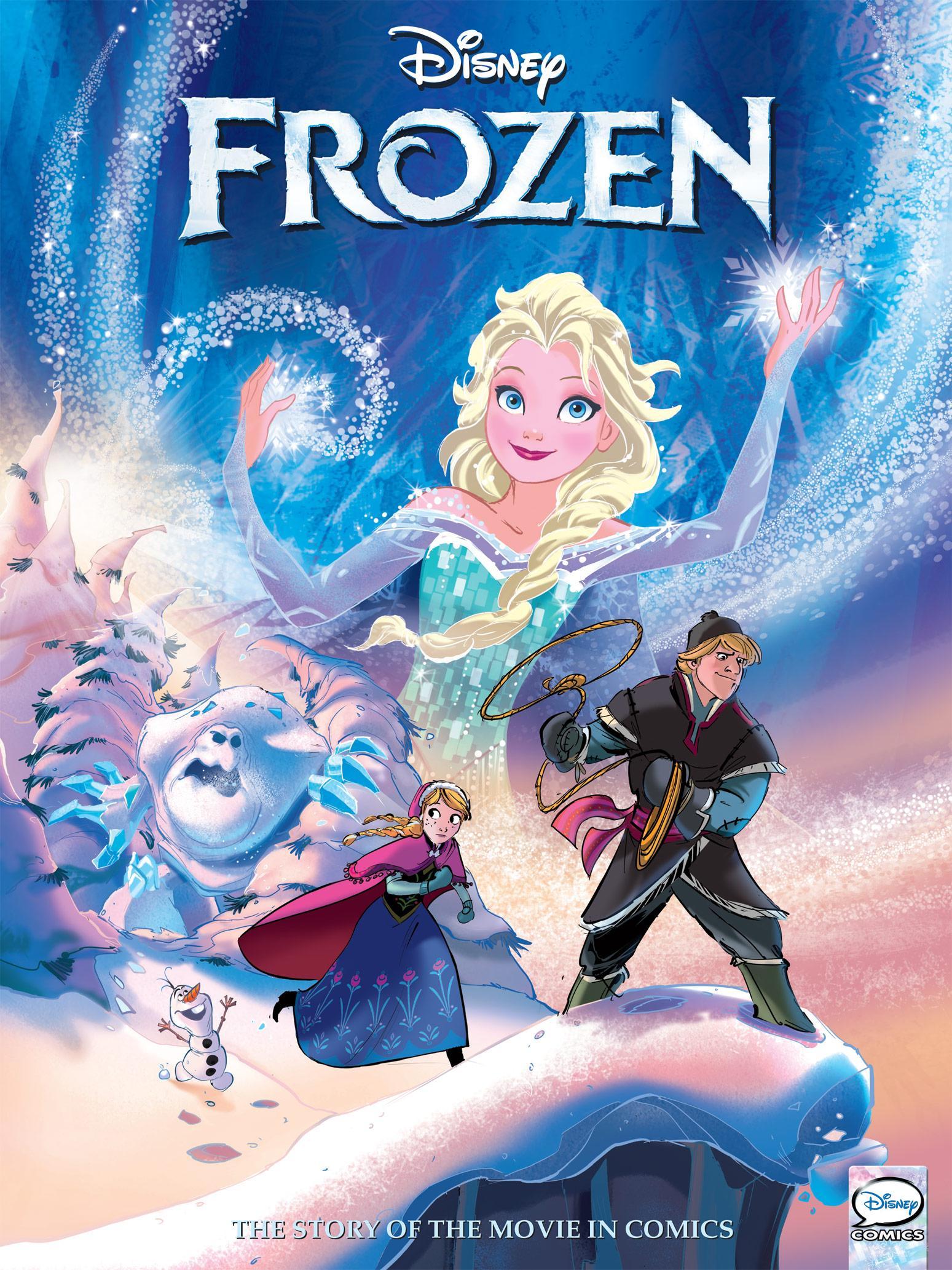 Frozen Graphic Novel (2014) (webrip) (GreenGiant-DCP