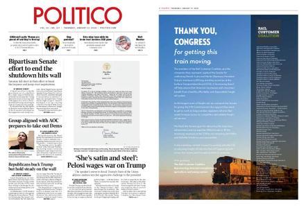 Politico – January 17, 2019