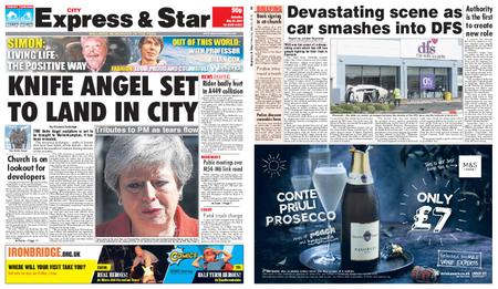 Express and Star City Edition – May 25, 2019