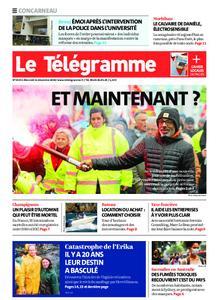 Le Télégramme Concarneau – 11 décembre 2019