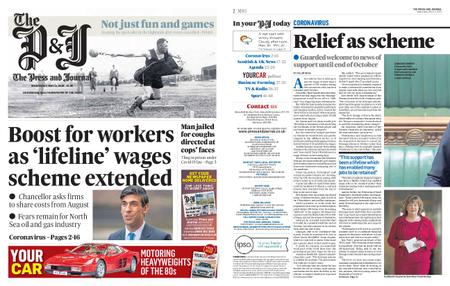 The Press and Journal Moray – May 13, 2020
