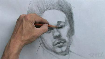 Drawing the Male Portrait - Construction and Abstraction Methods [repost]