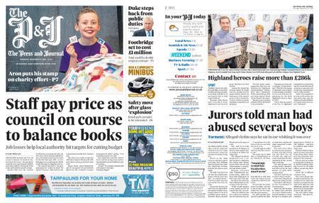 The Press and Journal Moray – November 21, 2019