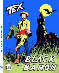 Tex N.094 - Black Baron (Araldo 1968-08)