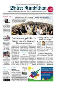 Sylter Rundschau - 03. März 2018