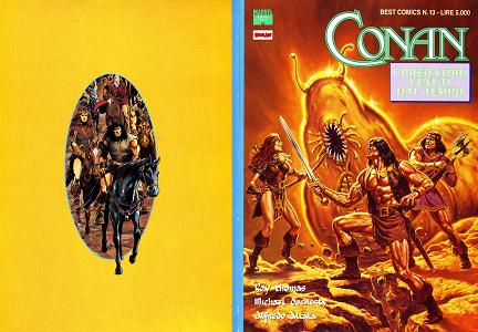 Conan Il Barbaro - I Predatori Venuti Dal Tempo (Best Comics 13)