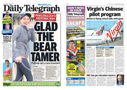 The Daily Telegraph (Sydney) – March 25, 2019
