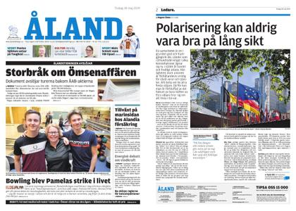 Ålandstidningen – 28 maj 2019