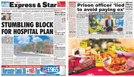 Express and Star City Edition – December 14, 2017