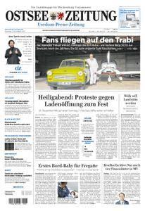 Ostsee Zeitung Wolgast - 07. November 2017