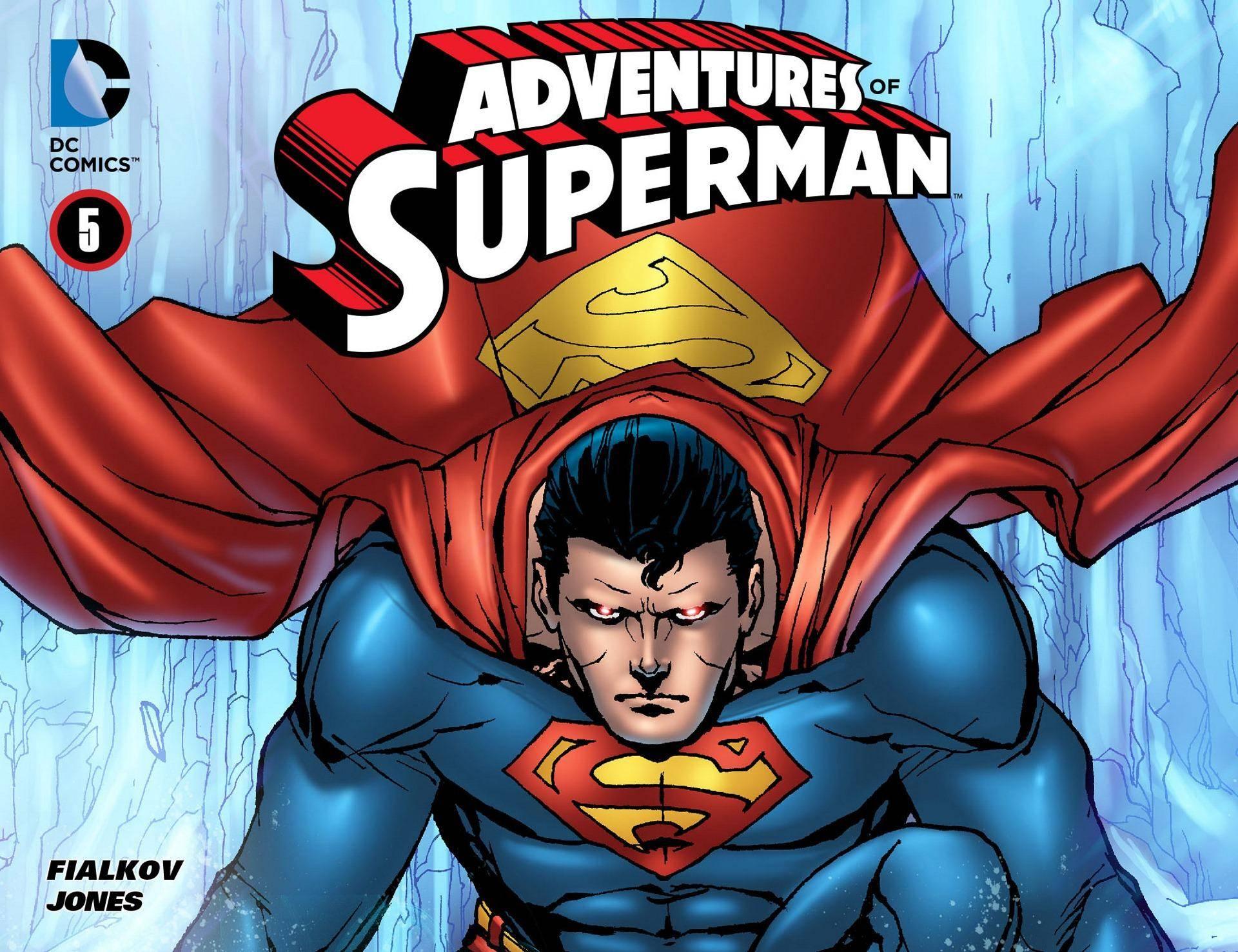 Adventures of Superman 005 2013 Digital