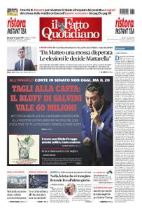 Il Fatto Quotidiano - 14 agosto 2019